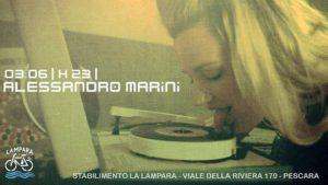 2017: Dj Alessandro Marini (03/06, 24/06, 22/07, 12/08, 08/09) @ Pescara | Italia