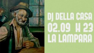 2 settembre: DJ della Casa